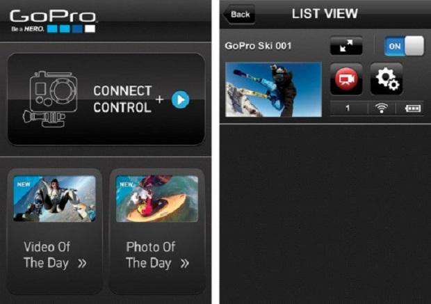 App da GoPro funciona com iPhone, iPod e iPad (Foto: Divulgação)