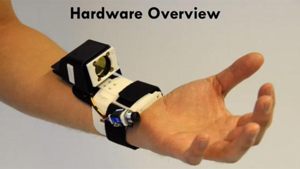 Aparelho pode levar a interfaces controladas por gesto no futuro (Foto: Reprodução)