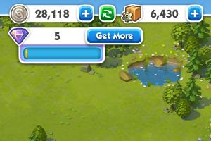SimCity Social-moedas
