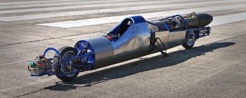 A super moto ainda em fase de testes por Richard Brown (Foto: Reprodução) (Foto: A super moto ainda em fase de testes por Richard Brown (Foto: Reprodução))