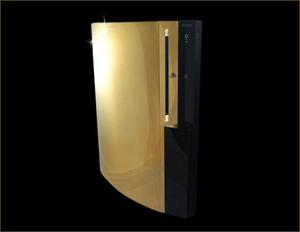 Ps3 Gold Supreme - Apenas 3 unidades lançadas (Foto: Reprodução / Wonderhowto) (Foto: Ps3 Gold Supreme - Apenas 3 unidades lançadas (Foto: Reprodução / Wonderhowto))