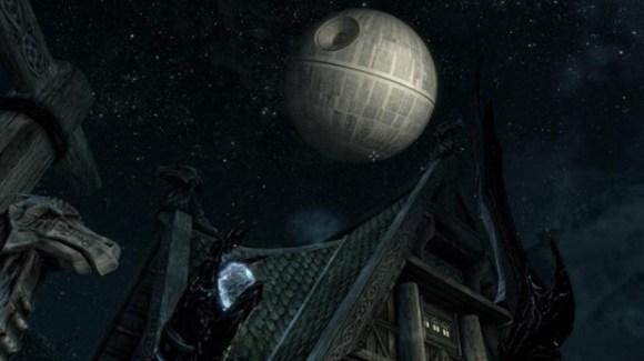 Até Star Wars está em Skyrim (Foto: Reprodução)
