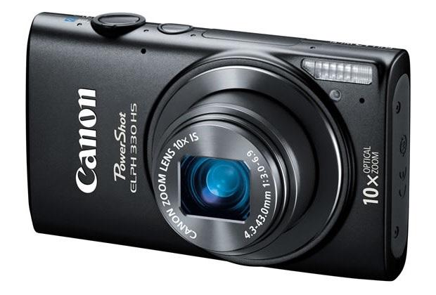 ELPH 330 HS é a nova top de linha das point-and-shoot da Canon (Foto: Divulgação)