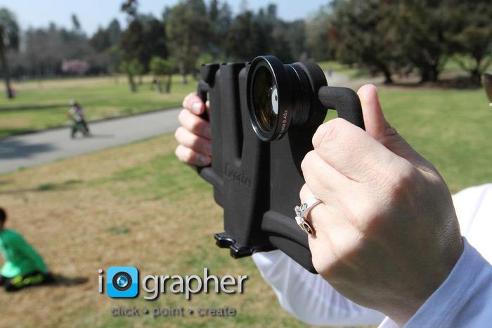 Acessório permite filmagem profissional com iPad mini (Foto: Divulgação)