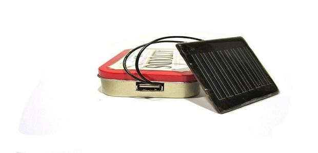 Altoids Solar USB Charger parece uma lata de sardinha, mas mantem o celular ligado por dois dias (Foto: Divulgação)