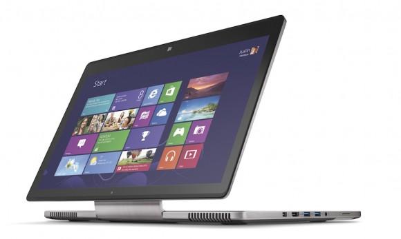 Tela do laptop gira 180 graus (Foto: Divulgação/ Acer)