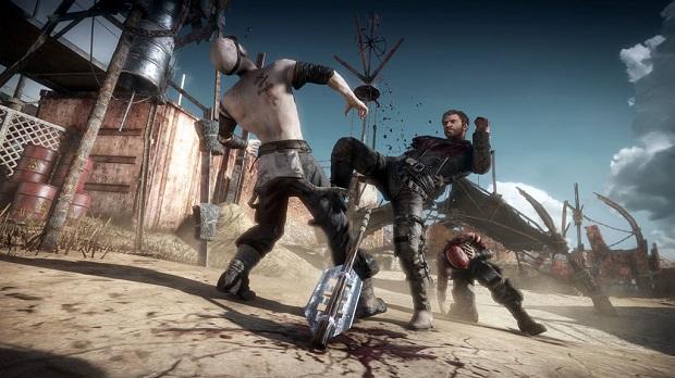 Outra surpresa da noite um jogo baseado em Mad Max (Foto: Divulgação)