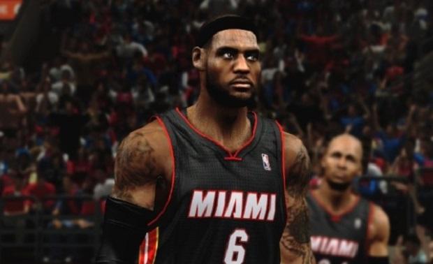 NBA2k14: tempo desperdiçado na conferência? (Foto: Divulgação)