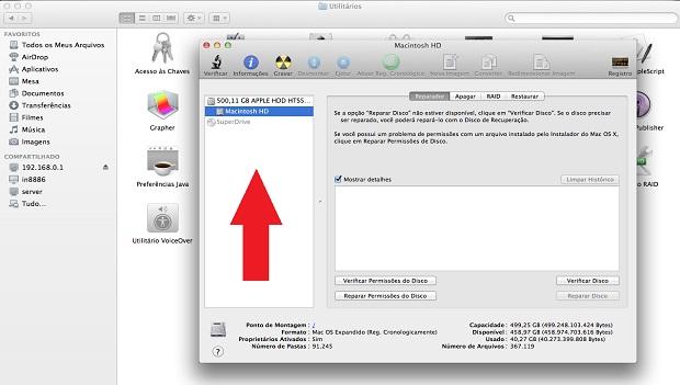 Como descriptografar volumes no mac (Foto: reprodução)