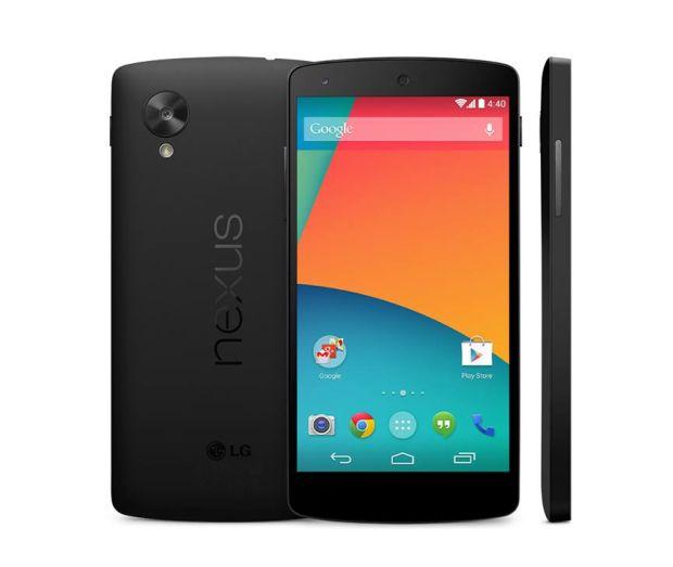 Nexus 5 apareceu na Play Store por um erro, provavelmente (Foto: Reprodução/Google)