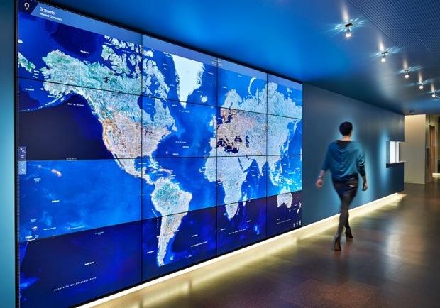 Microsoft cria centro futurístico para combater botnets e malwares pelo mundo (Foto: Reprodução/The Next Web)