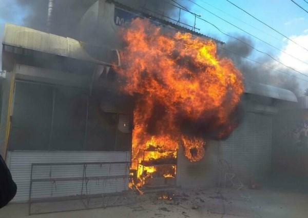 В Новошахтинске произошел пожар в торговом павильоне | Новости