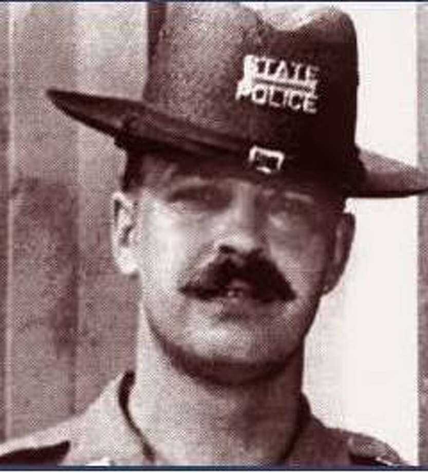 Connecticut State Trooper Carl P. Moller, was killed on Feb. 13, 1976 by a hit and run driver on I-84. Moller, 31, of Bristol had just finished his work week and was on his way home when he stopped to assist a motorist on I-84 in West Hartford. While on the roadway, Moller and the motorist were struck and both killed by a truck. Photo: Connecticut State Police