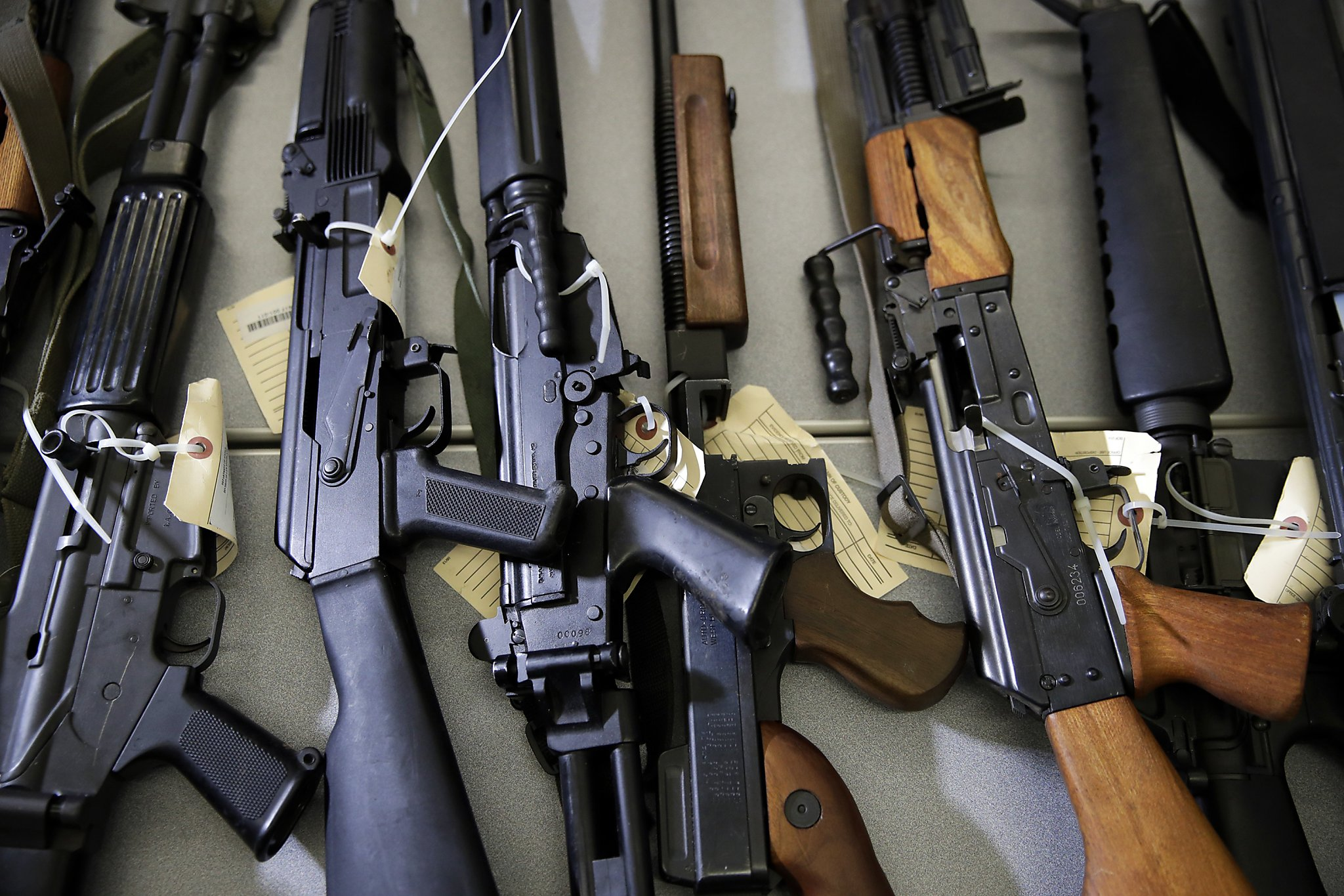California Struggles To Seize Guns From People Who Shouldn