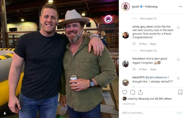 ExTexans punter Shane Lechler holds retirement party