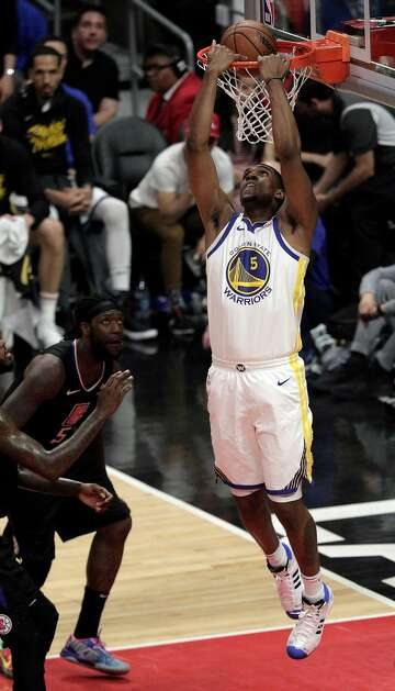 kevon looney reacts to steve kerr calling him - 360×628
