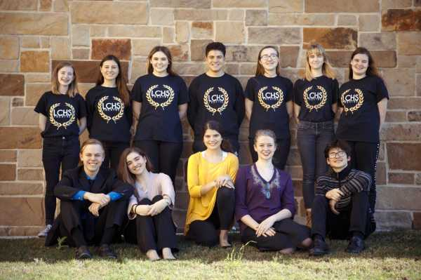 Theatre troupe at Lake Creek High School in Montgomery