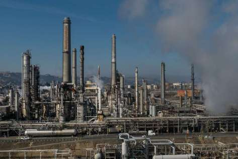 At the Shell refinery in Martinez, operations were back to normal Tuesday morning, according to a spokesman.