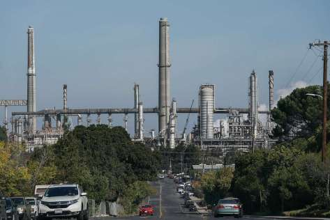 "At Shell's refinery in Martinez, ""some equipment was temporarily affected by the quake"" on Monday, according to a spokesman."