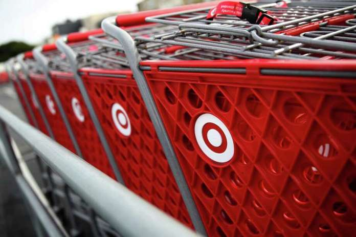 Along with curbside pickup, Target offers in-store pickup, where customers can walk in and get the items they ordered through the company's app or website. Customers can also have items delivered the same day with Shipt, a delivery business Target acquired in 2017. Photo: Justin Sullivan /Getty Images / 2020 Getty Images