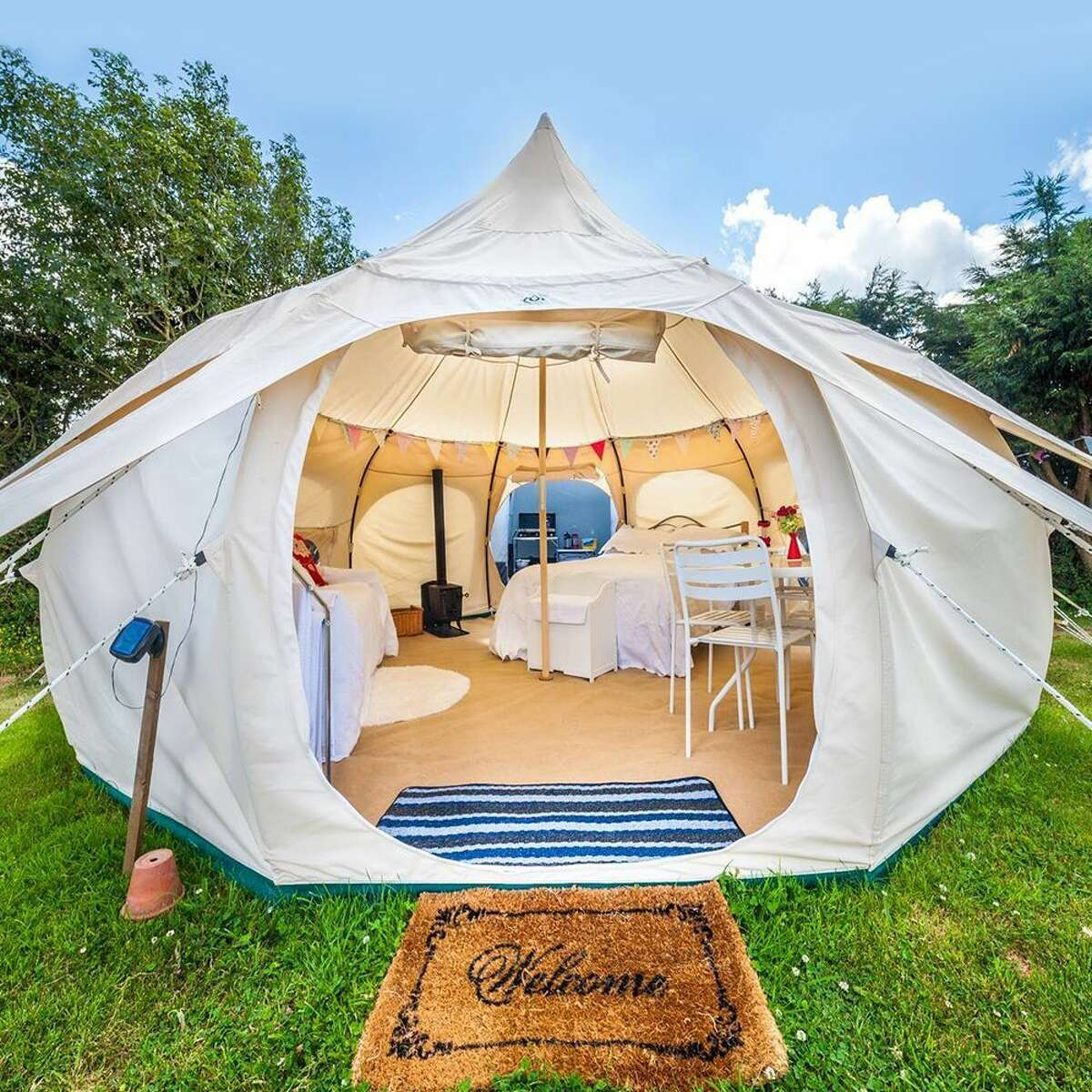 Outdoor Living Made Fancy With These 8 Glamping Tents on Fancy Outdoor Living id=68018