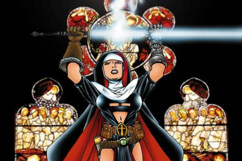 New Netflix series 'Warrior Nun' based on comic book series ...