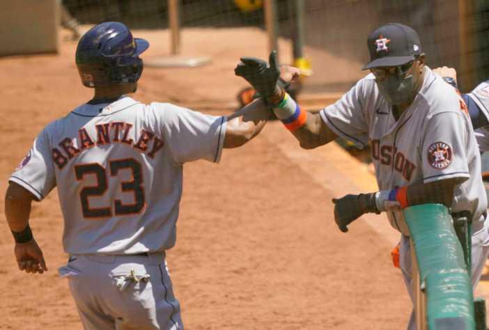Astros' Michael Brantley, Chris Devenski nearing return ...