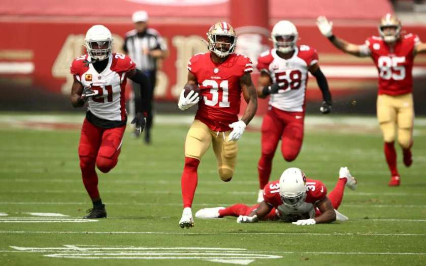 49ers' Raheem Mostert records fastest speed by ball carrier in last 3 years  - SFGate