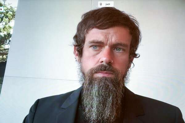 Jack Dorsey's beard dominates online reaction to tech hearing -  SFChronicle.com