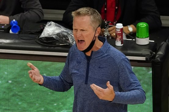 Steve Kerr of Warriors struggling with the NBA reality he warned us was coming