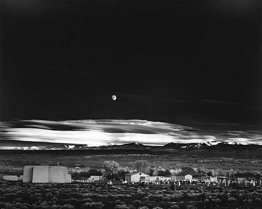 Adams Moonrise Mexico New Hernandez Ansel