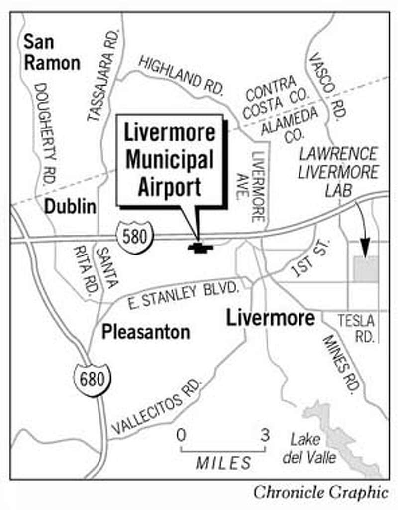 Livermore municipal airport chronicle graphic