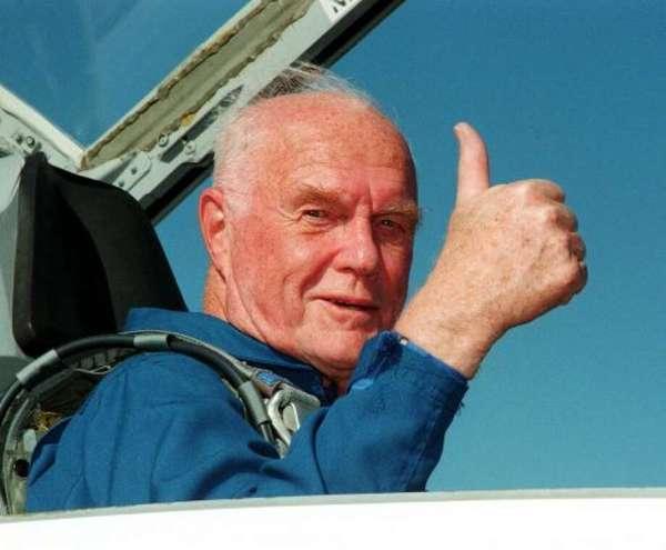 John Glenn first American to orbit the earth dead at 95 Houston Chronicle