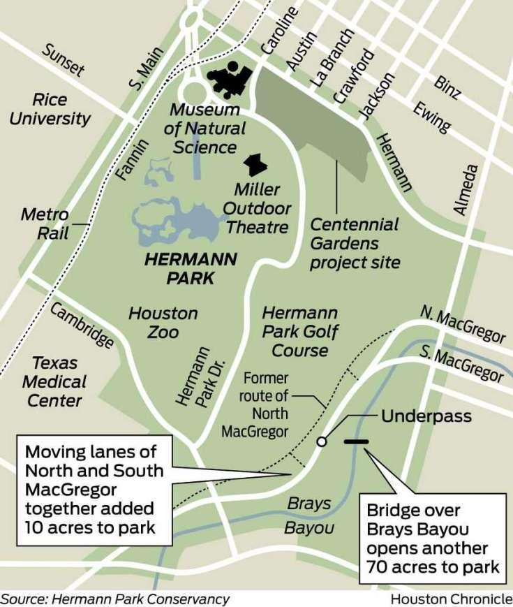 Hermann Park Map Guide