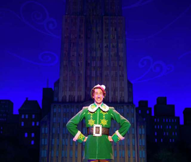 Matt Kopec Is Playing The Title Role In The National Tour Of Elf Which