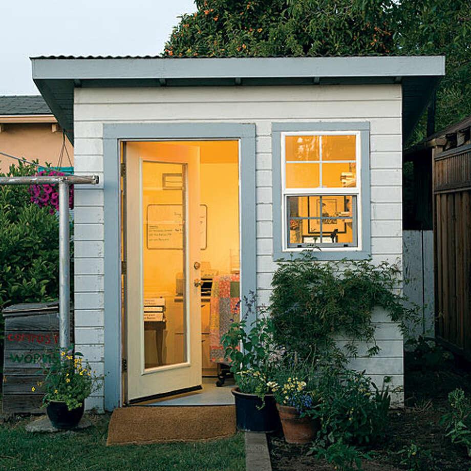 Creative ideas for backyard retreats and garden sheds - SFGate on Backyard Retreat Ideas id=58673