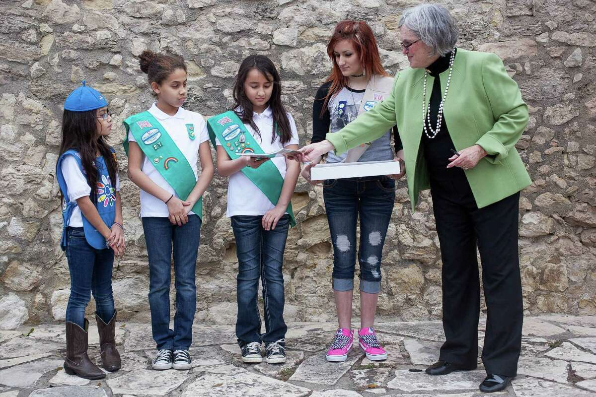 Texas Independence Day Honored At Alamo