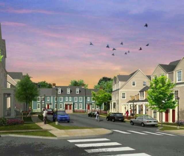 An Artist Rendering Of Charter Oak Communities Proposed 76 Unit Housing Development On Palmers