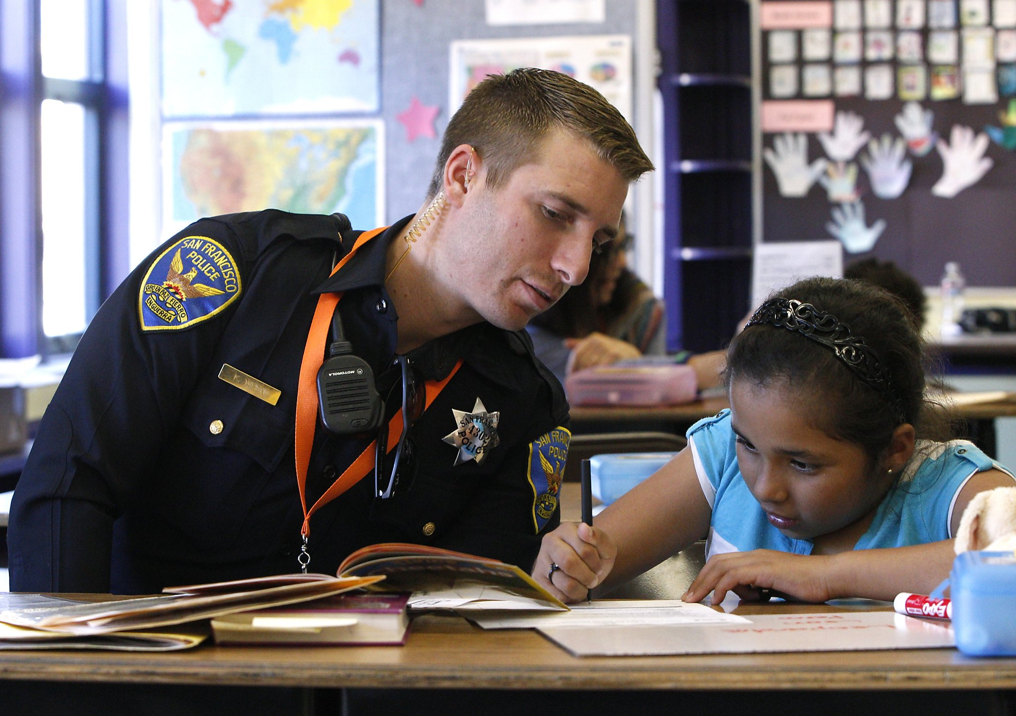 Cop Throws The Book At Bayview Kids As Reading Tutor