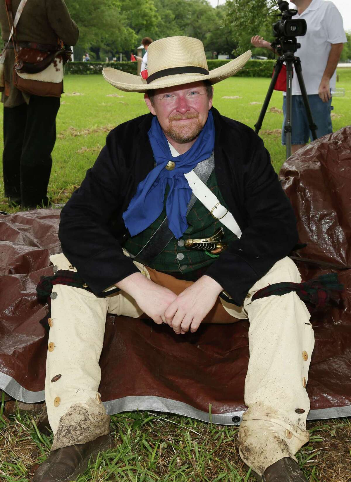 Actors Remember The Battle Of San Jacinto With Reenactment