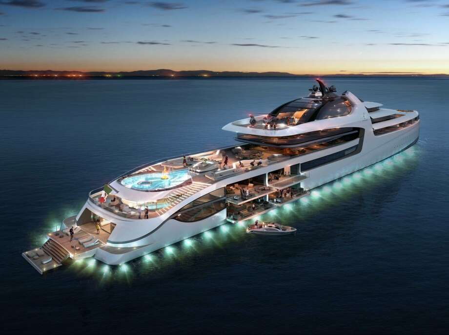 Take A Look Inside The 1 Billion Mega Yacht Competing To
