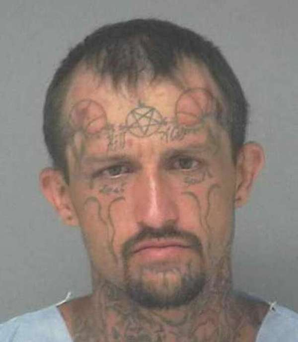Man with untold number of face tattoos arrested on gun ...