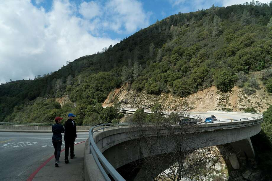 13 places every Californian should visit in Gold Country   SFGate People cross Highway 49 to view the South Yuba River in Nevada City  Photo