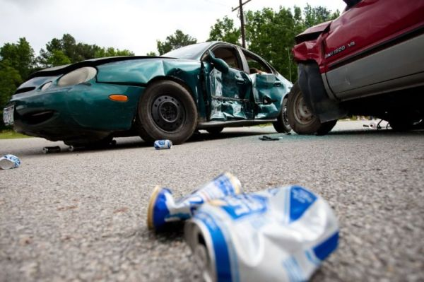 Mock accident portrays real consequences of drunk driving
