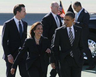 Obama cuts TV ad for Kamala Harris - SFChronicle.com