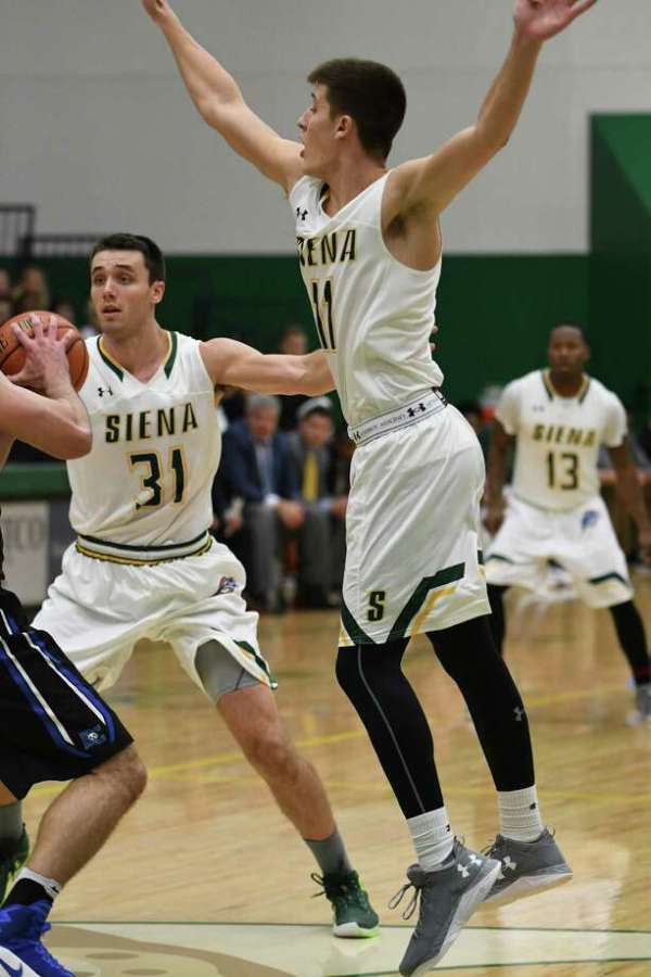 Siena men's basketball tops Daemen in exhibition - Times Union