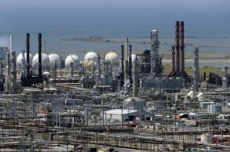 Image result for chevron richmond refinery