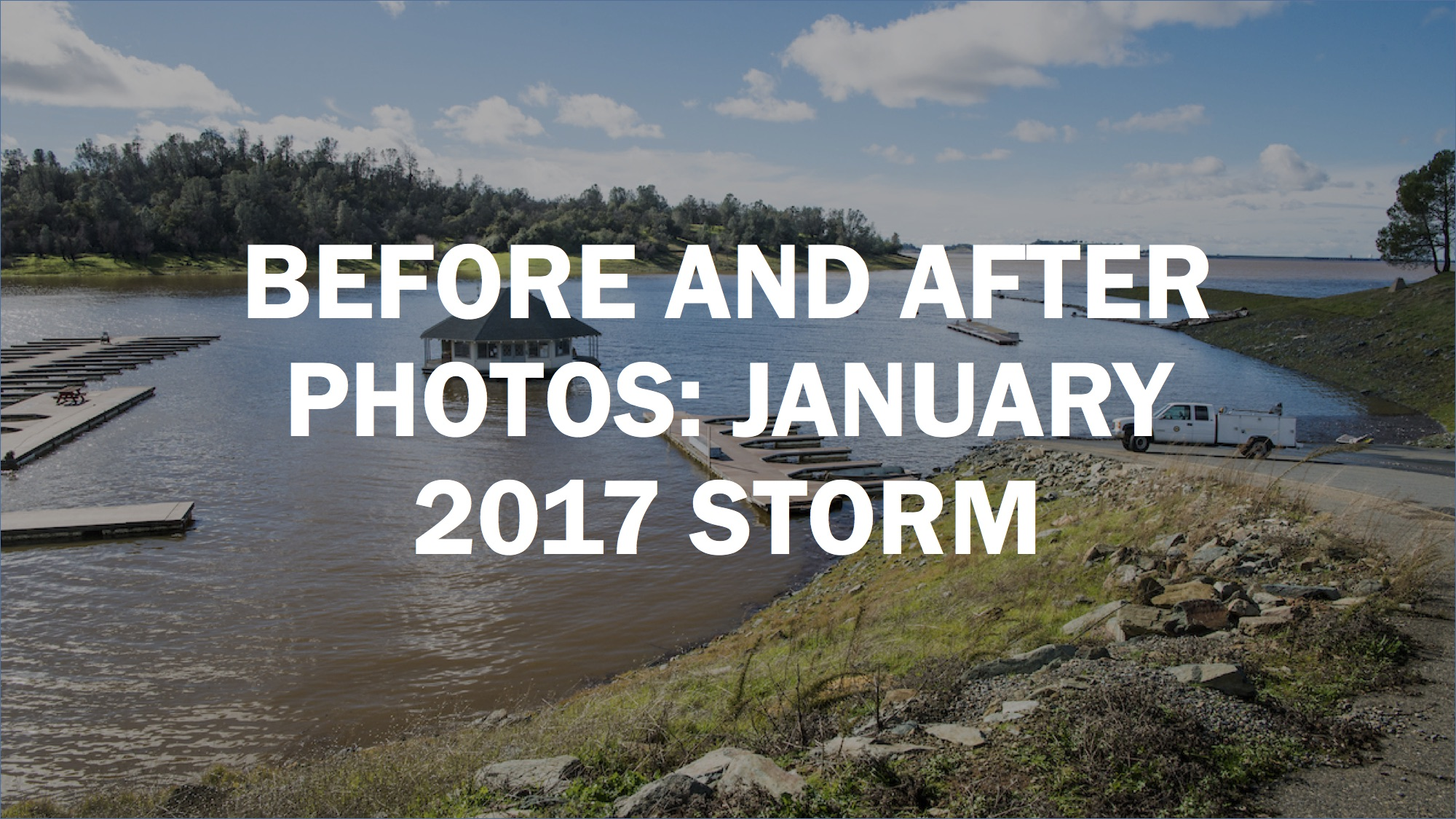 Before And After Photos Show California Storm S Insane