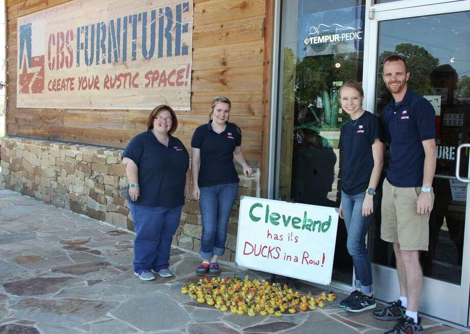 Rubber Ducks Go For The Goods In Cleveland Houston