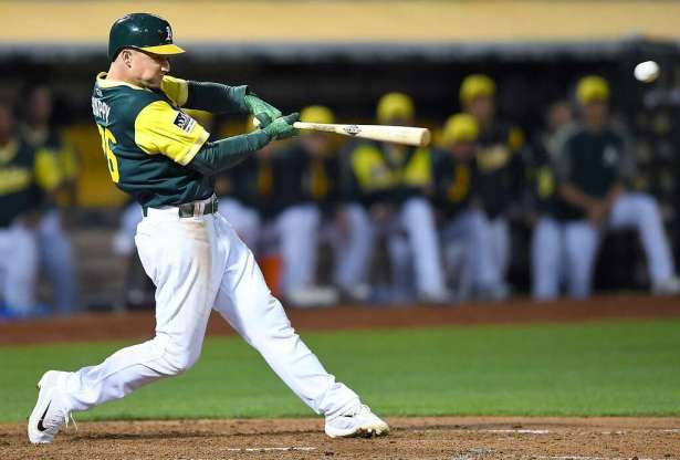 Image result for matt chapman baseball
